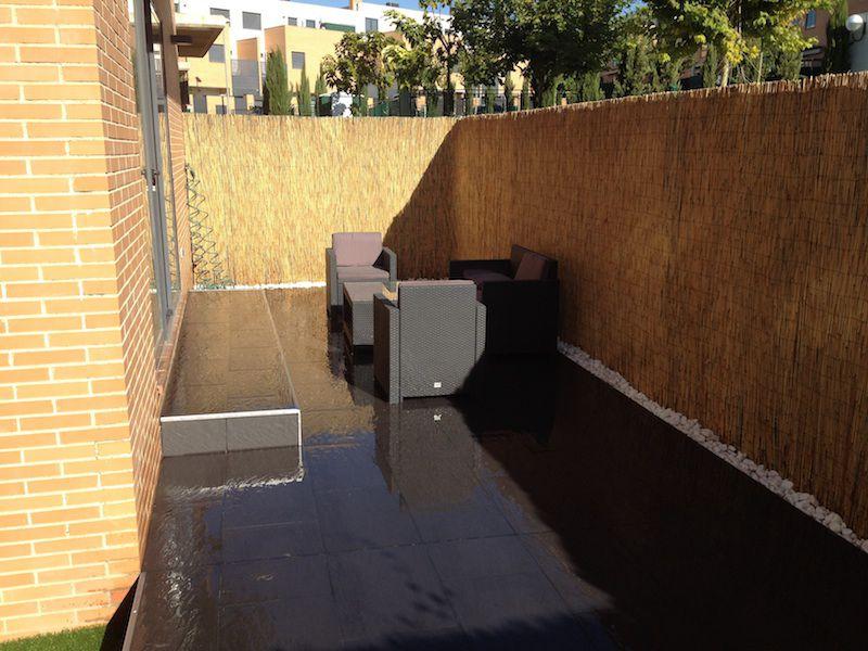 Reforma de un jardín / chillout en Madrid.