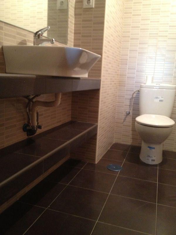 Reforma total de baño en Madrid.