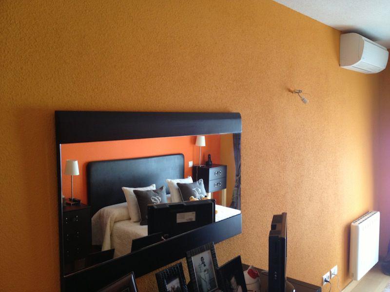 Reforma e interiorismo de habitación/dormitorio en Madrid.