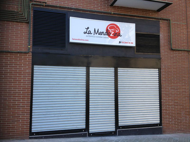 Reforma de un local comercial en Madrid